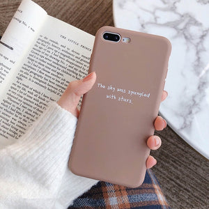 Romance quotes iphone case