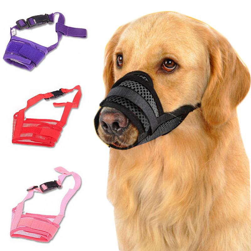 BREATHABLE MUZZLE FOR DOGS