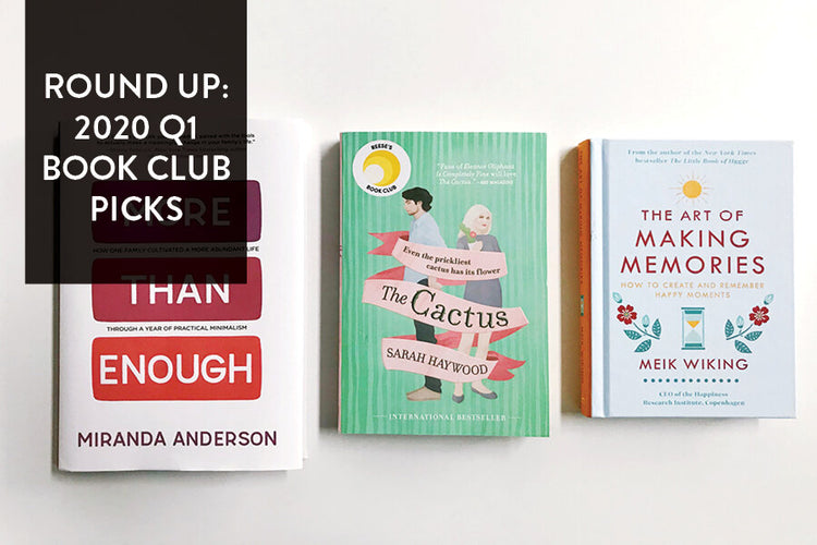 Round Up: 2020 Q1 Paper + Craft Pantry Book Club Picks