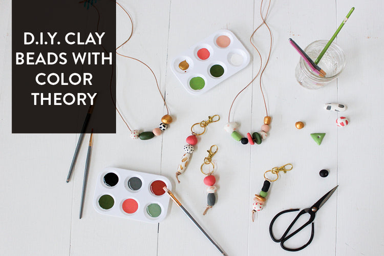 D.I.Y. Clay Bead Accessories Using Color Theory Principles