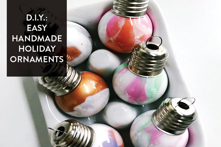 D.I.Y.: Easy Handmade Holiday Ornaments