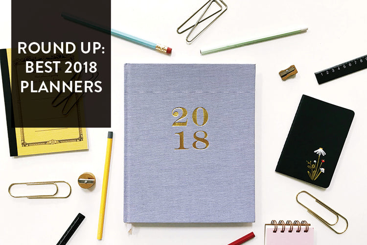 Round Up: Best Planners of 2018