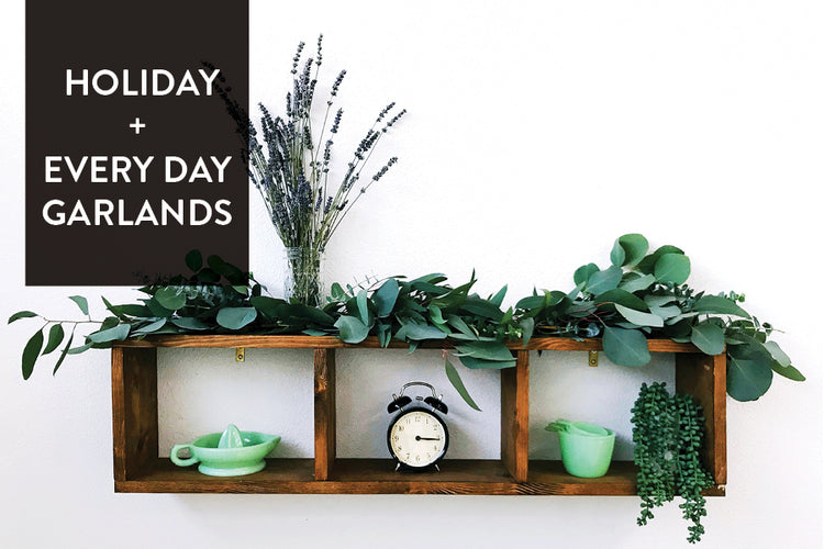 D.I.Y.: Simple Holiday Garland