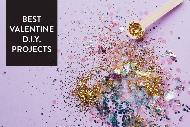 Round Up: Last Minute Valentine's D.I.Y. Projects