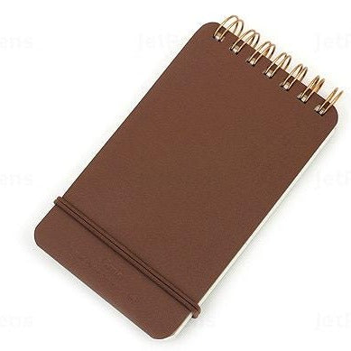 Small Leather Notebook - 2 color options