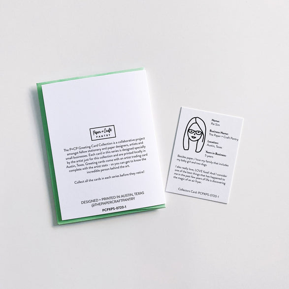 The Greeting Card Collection - The P+CP Card