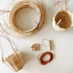 Basket Weaving Workshop Kit