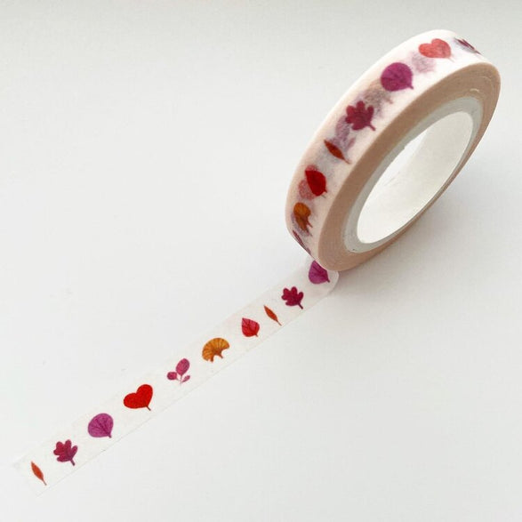 Heart Leaves Washi Tape