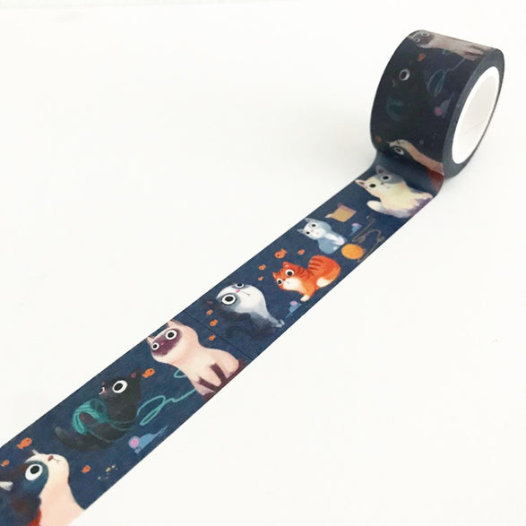 "Cats 1"" Washi Tape"