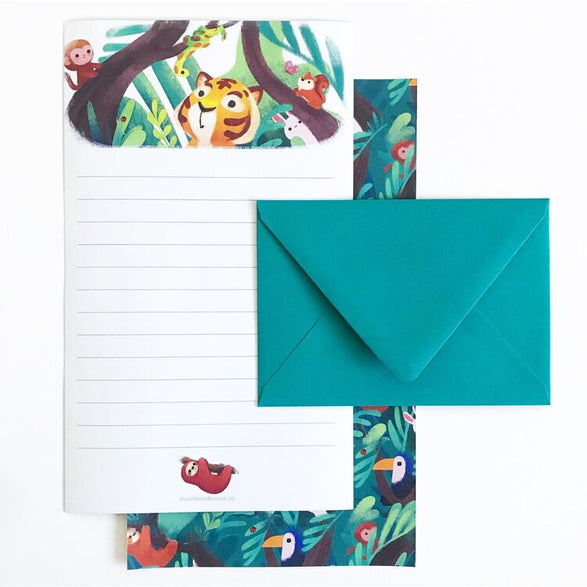 Jungle Letter Set