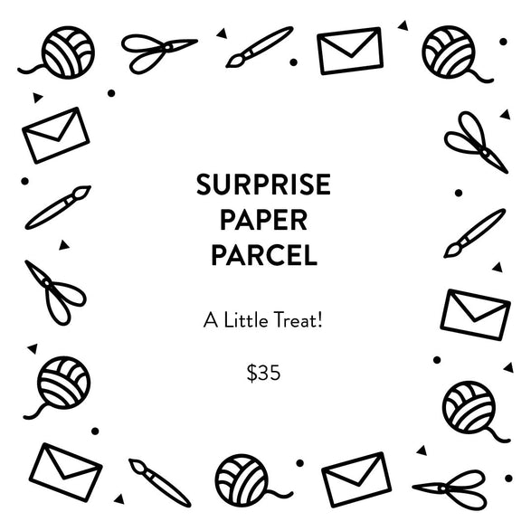 $35 Surprise Paper Parcel - A Little Treat!