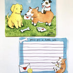 Dog Letter Writing Kit