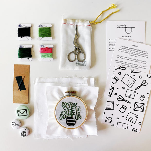 Embroidery Workshop Kit