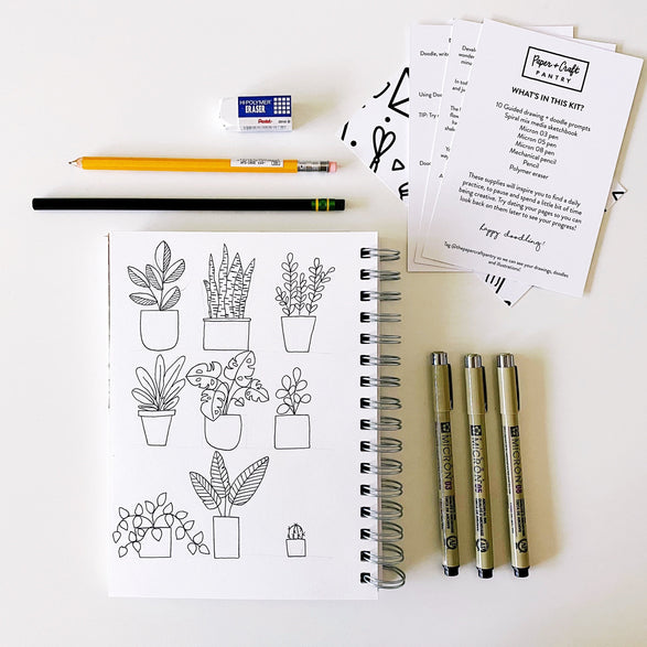 Doodle + Draw Workshop Kit