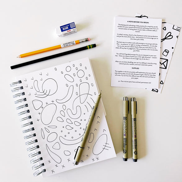 *PRE-ORDER* Doodle + Draw Workshop Kit
