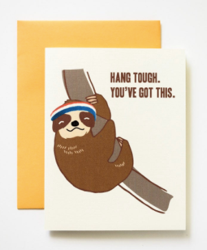 Hang Tough Sloth