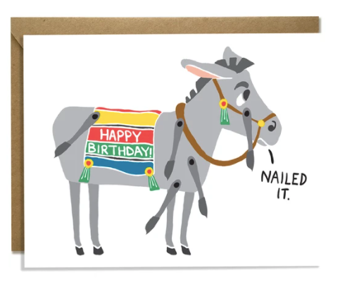 Nailed It Donkey Birthday