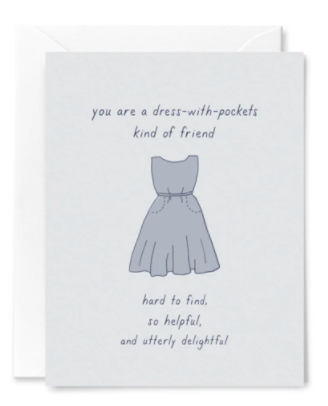 Dress Pocket Friendship