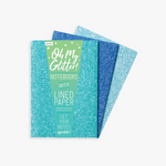 Glitter Notebook - 2 color options