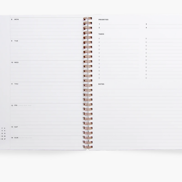 2021 Year Task Planner - 2 color options