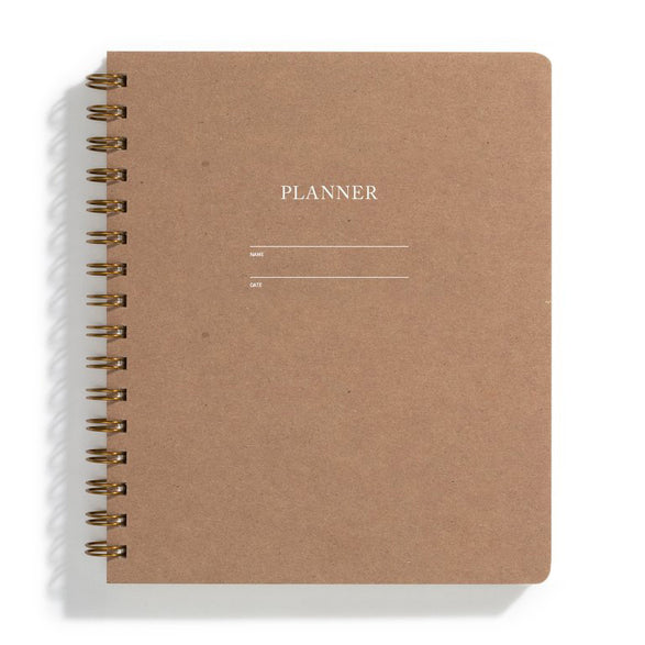 Planner - 5 color options