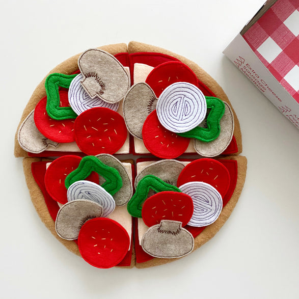 Felt Pizza Play Kit