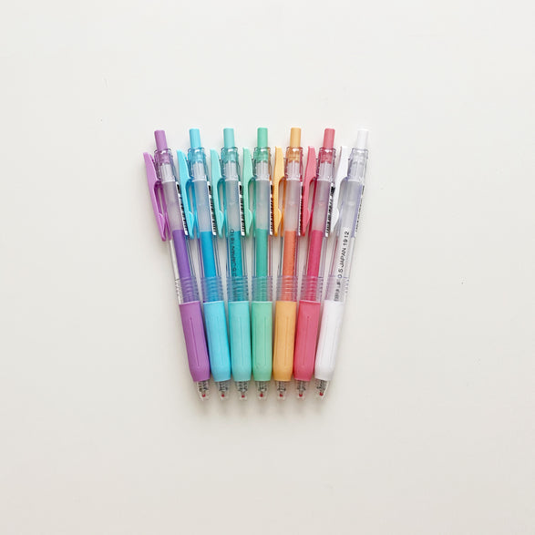 Sarasa Pastel Gel Pen - 8 color options