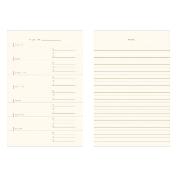 Beautiful Day Undated Planner - 2 color options
