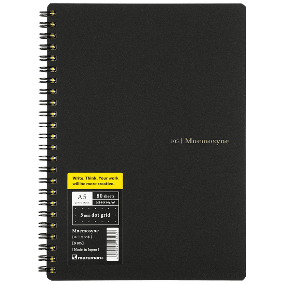 Mnemosyne Notebook - 2 paper type options