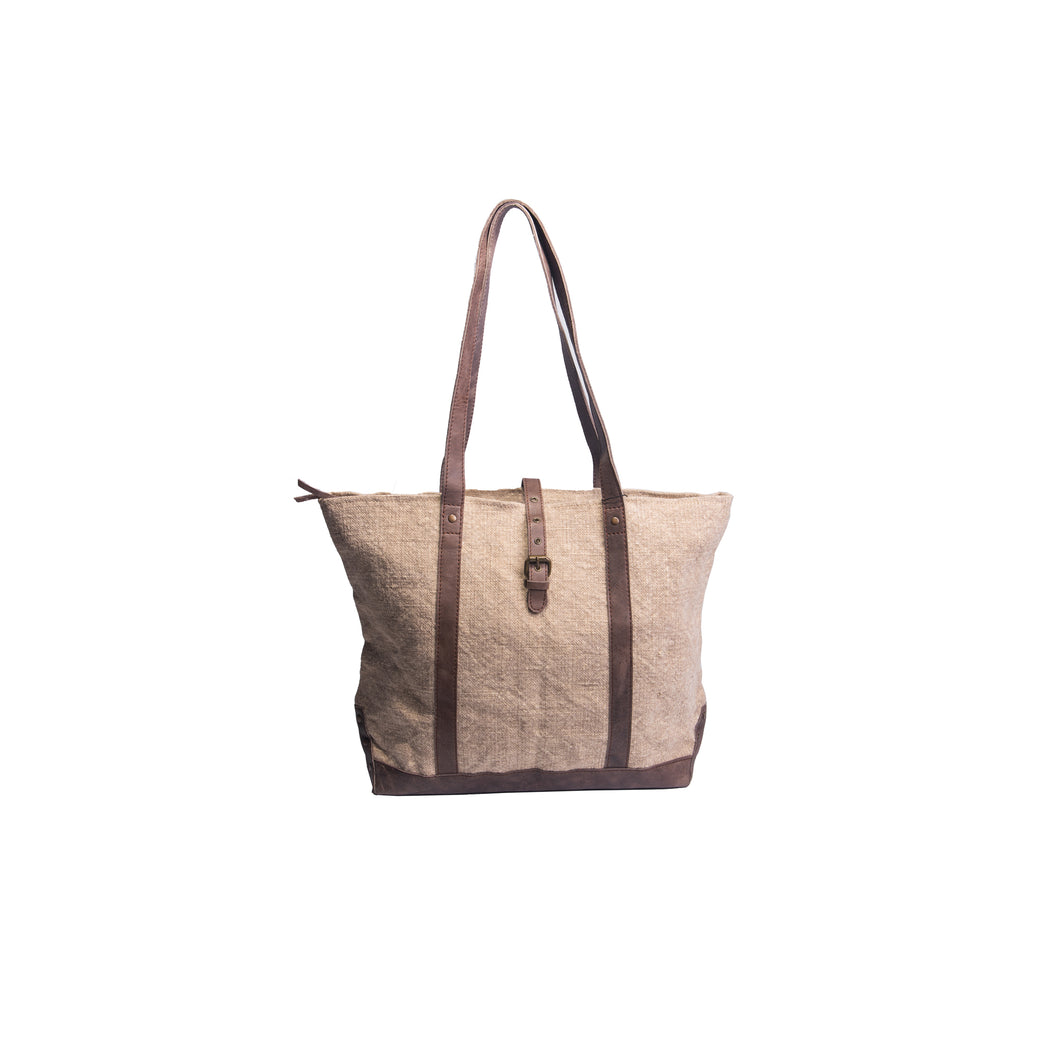 Jute Shoulder Bag by Vintage Addiction