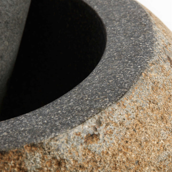 Danish Riverstone Mortar and Pestle
