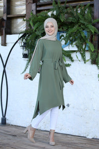 Fern Green Modest Tunic - Buy Abaya Online