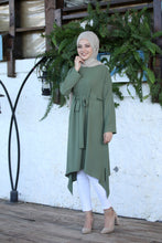 Load image into Gallery viewer, Fern Green Modest Tunic - Buy Abaya Online