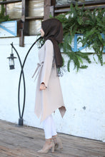 Load image into Gallery viewer, Beige Modest Tunic - Buy Abaya Online