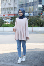 Load image into Gallery viewer, Powder Pink Modest Tunic - Buy Abaya Online