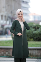 Load image into Gallery viewer, 3 Piece Suit Set - Jacket, Tunic & Trouser Set (Pine Green)