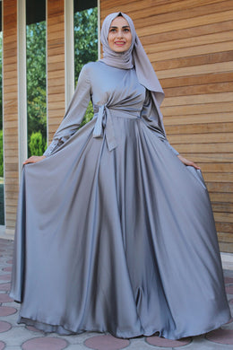Grey Evening Dress - Buy Abaya Online