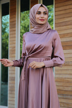 Load image into Gallery viewer, Light Rose Pink Evening Dress - Buy Abaya Online