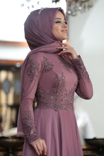 Load image into Gallery viewer, Sky Magenta Evening Dress - Buy Abaya Online