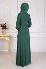 Load image into Gallery viewer, Emerald Green Abaya PS - Buy Abaya Online