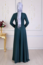 Load image into Gallery viewer, Green Maxi Abaya - Buy Abaya Online