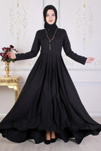 Load image into Gallery viewer, Black Maxi Abaya - Buy Abaya Online