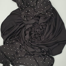 Load image into Gallery viewer, Black Pearl Hijab. Hijab Online