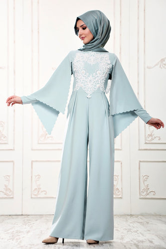 Mint Modest Jumpsuit - Buy Abaya Online