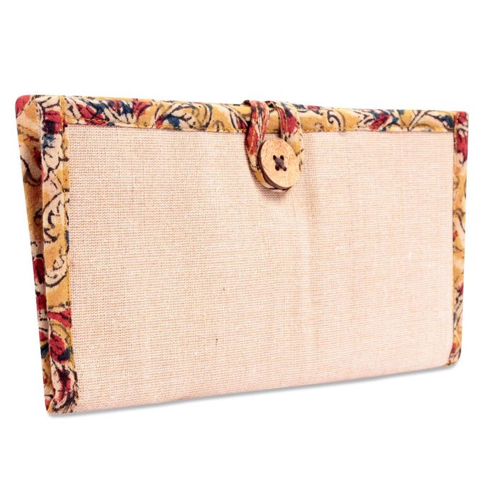 Jute Passport Purse