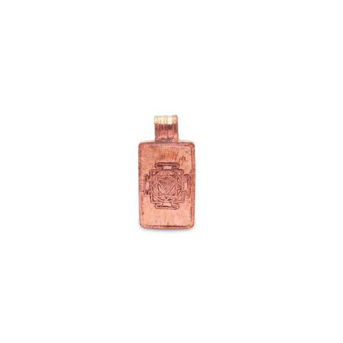Linga Bhairavi Copper Pendant - Small