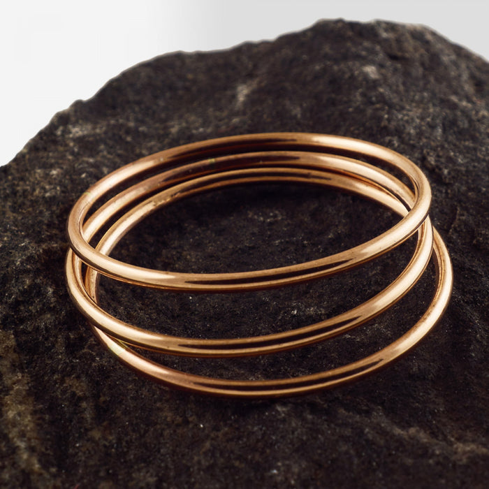 Copper Bangle - Style 2
