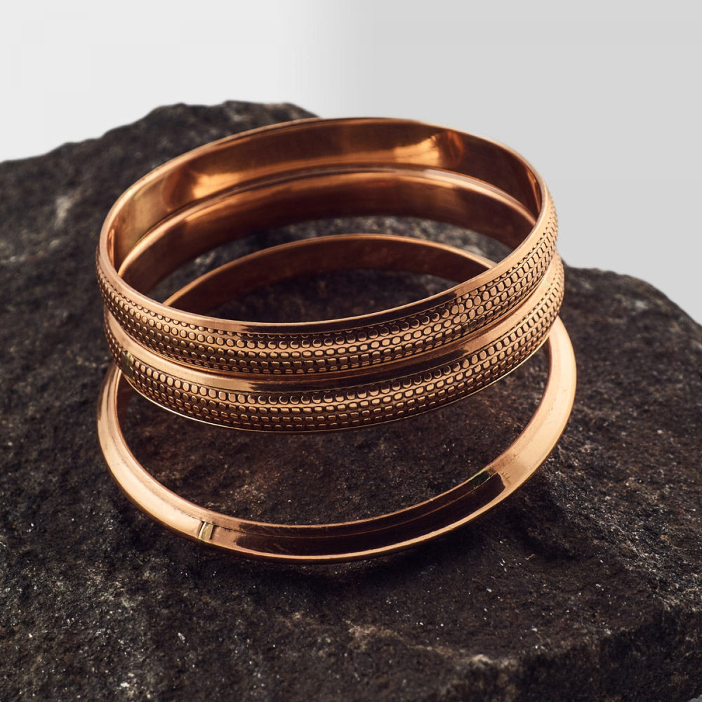 Copper Bangle - Style 3