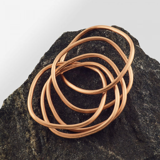 Copper Bangle - Style 6