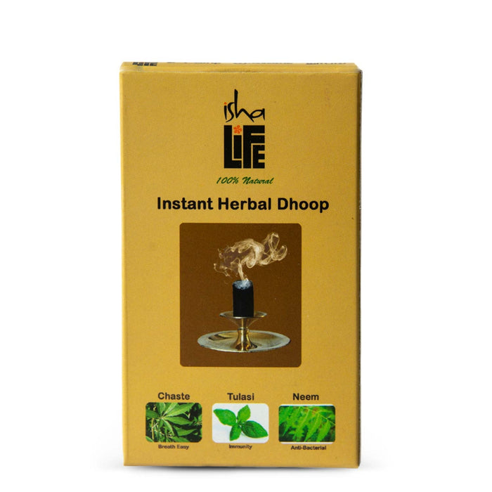 Instant Herbal Dhoop, 20 pcs